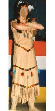 Indianerkostüm für Damen Gr 38
