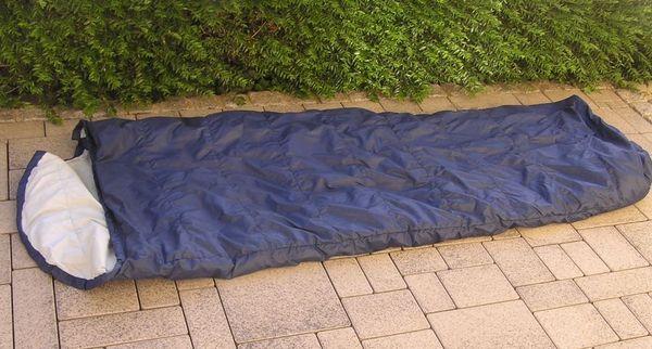 Schlafsack mit Daunenfüllung - » Campingartikel
