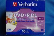 Verbatim DVD R DL Rohlinge