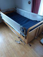Pflegebett Wechseldruckmatratze Patientenheber