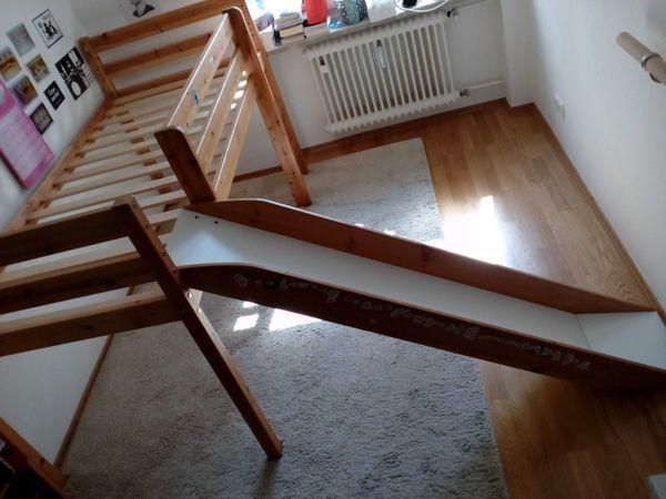 Hochbett Holz 90x200 : Hochbett selber bauen u anleitung von hornbach