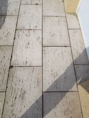 Terrassenplatten travertino ca.