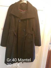 Schwarzen Mantel zu Verkaufen
