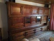 Wohnzimmerschrank Eiche Rustikal Haushalt Mobel Gebraucht Und