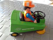 Spielzeug Playmobil Kehrmaschine