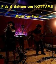 Musik vom Duo Fido Sahana
