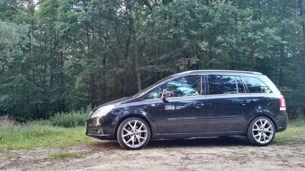 Opel Zafira 1. » Opel Meriva, Zafira