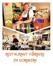 Lehrlinge als Koch und Restaurantfachmann