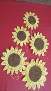 Deko Sonnenblumen für Fenster Tür