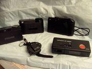 4 Fotoapparate Kameras