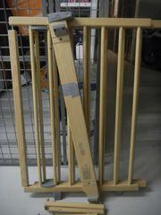 Geuther Treppenschutzgitter natur schwenkbar verstellbar