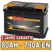 BSA Autobatterie 80Ah 12V 30