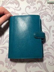 Filofax Finsbury Pocket Aqua
