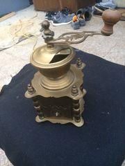 Antike Messing Kaffemühle