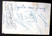 Autogramme von Formel 1 Legenden