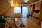 Teilmöbilierte 3 Zimmer-Wohnung Dachgeschoß