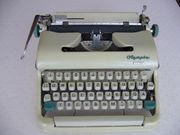 Kofferschreibmaschine Olympia Monica