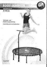 Trampolin RBS mit Trainings-DVD