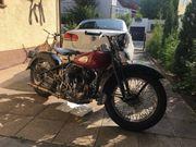 Harley Davidson WLA Flathead 750ccm