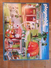 Campingplatz und Wohnmobil Playmobil- als