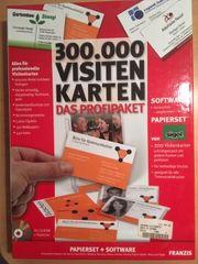 Software für 300 000 Visitenkarten -