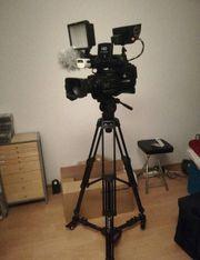 Professionelle Videokamera Fernsehkamera