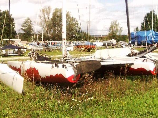 Tornado katamaran » Segelboote