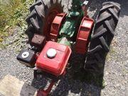 Einachsschlepper, Einachser, Traktor,