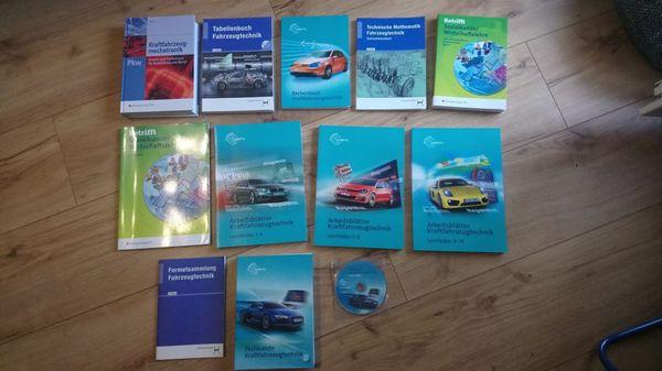 11-tellige Bücher Komplett für KFZ-Mechatroniker