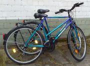 Damenrad und Herrenrad