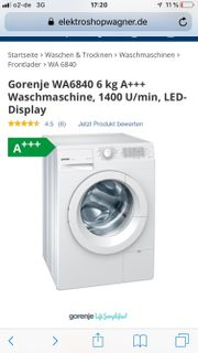 GORENJE WA6840 - Waschmaschine - A