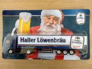 Werbetruck Minitruck Haller Löwenbräu Weihnachtsbier