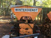 Antikes Winterdienst-Fahrzeug Multicar