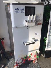 Softeismaschine von gel
