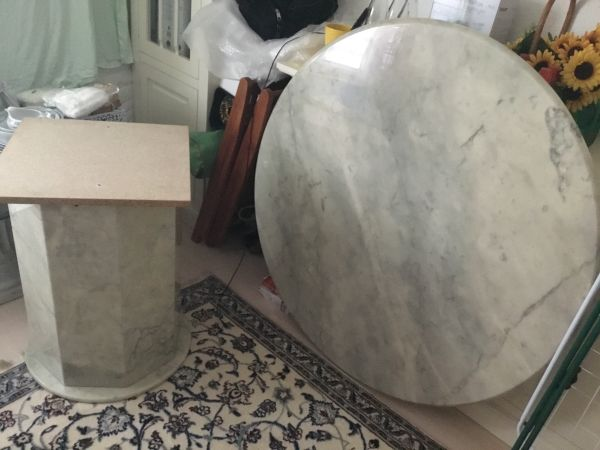 Marmortisch kaufen marmortisch gebraucht for Marmortisch rund