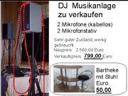 DJ Musikanlage Bartheke