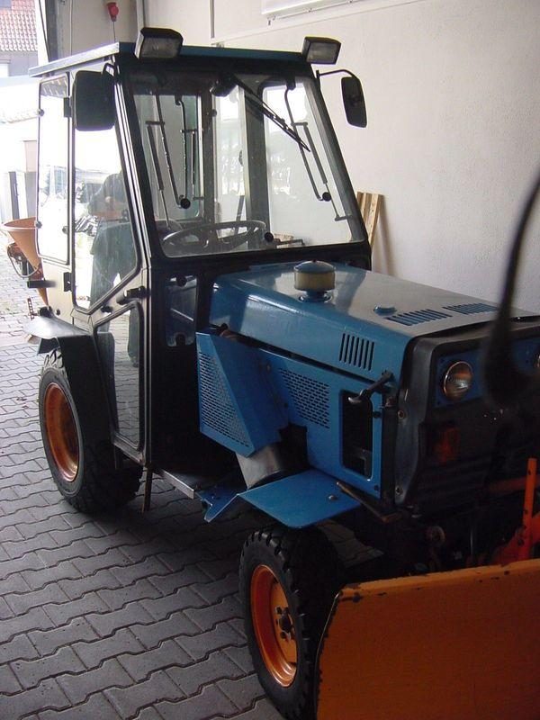 Agria 6900 D Komunal Traktor Schmalspur Schlepper Winterdienst ...