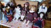 Wunderschöne Puppen und Masken