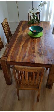 Esstisch Massiv Holz 200cmx100cm Stuhle