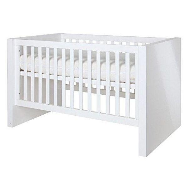 Design Baby-/Kinderbett KIDSMILL weiß Hochglanz in Lindau - Kinder ...