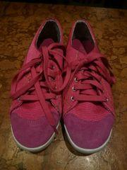 Sneakers Schnürschuhe pink Gr 39