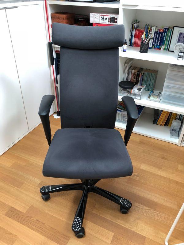 Rückenfreundlicher Bürostuhl/ Arbeitsstuhl zu verkaufen in München ...