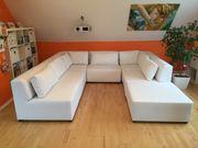 Couch aus weißem