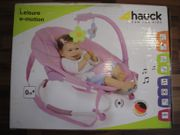 Babywippe Hauck Leisure e-motion