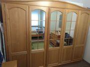 komplettes Schlafzimmer Holz-Kirschbaum