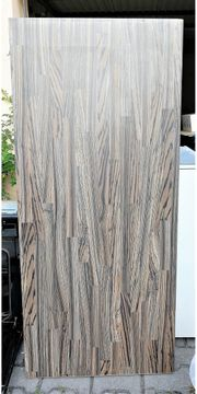Arbeitsplatte dunkles Holz ca 130x60