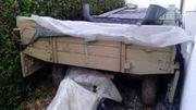 Ackerwagen ca 5m beige gestrichen