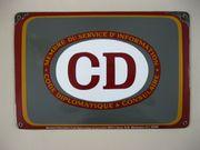 Email-Schild CD Corps Diplomatique Consulaire