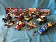 Lego große Sammlung Bagger Flugzeug