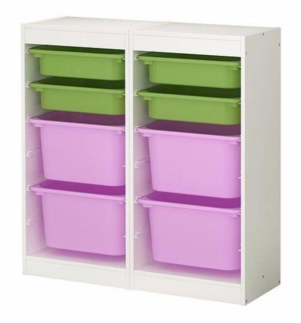 Kindermöbel ikea  IKEA Kindermöbel in weiß/rosa/grün in Stuttgart - IKEA-Möbel ...